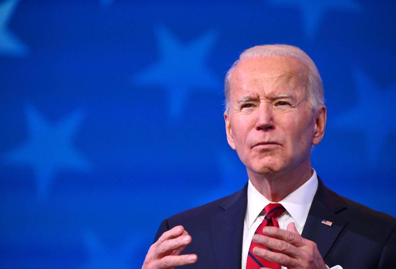 Joe Biden, à Wilmington, dans le Delaware, le 15 janvier 2021