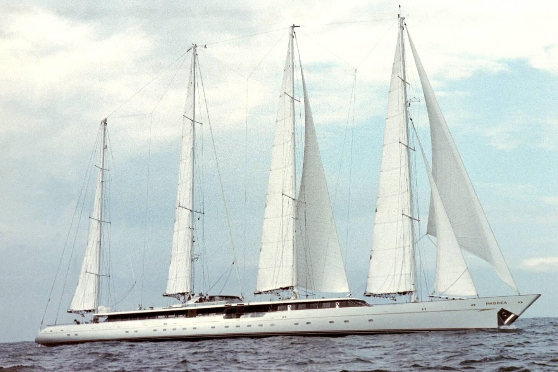 Le Phocéa au large de Saint-Malo le 4 juillet 2021