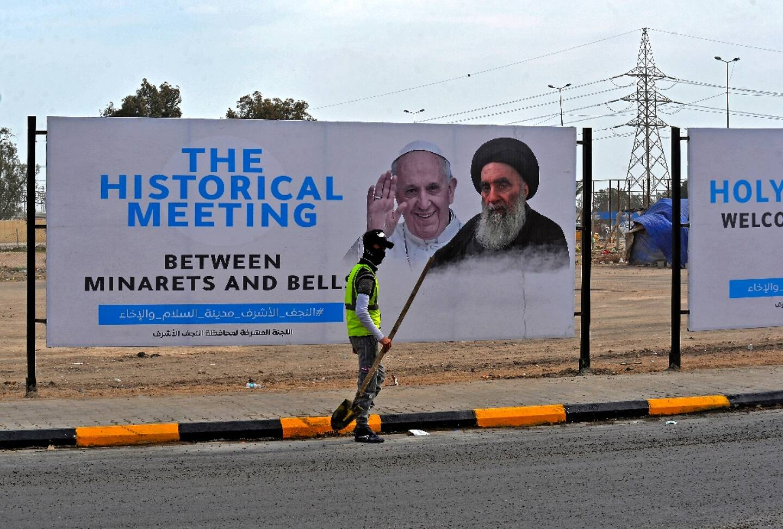Rencontre historique ce samedi en Irak: le pape chez le grand ayatollah  chiite Ali Sistani - Nice-Matin
