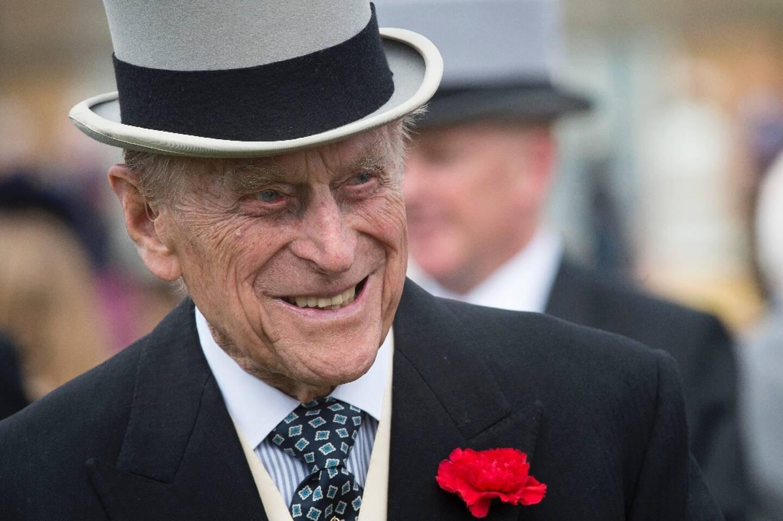 Le prince Philip, le 16 mai 2017 à Buckingham Palace