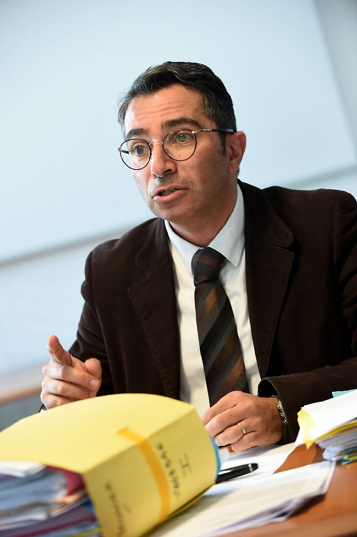 L'avocat français Hervé Gerbi à Grenoble, le 7 novembre 2016