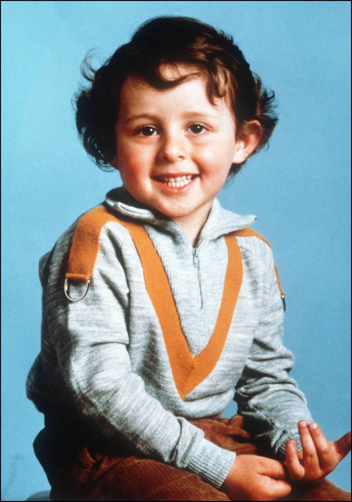Photo non datée du petit Grégory Villemin, 4 ans, retrouvé noyé le 16 octobre 1984