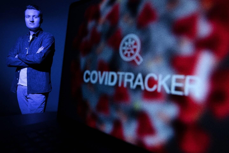 Guillaume Rozier, créateur des sites Vitemadose et Covidtracker, le 10 février 2021 à Paris