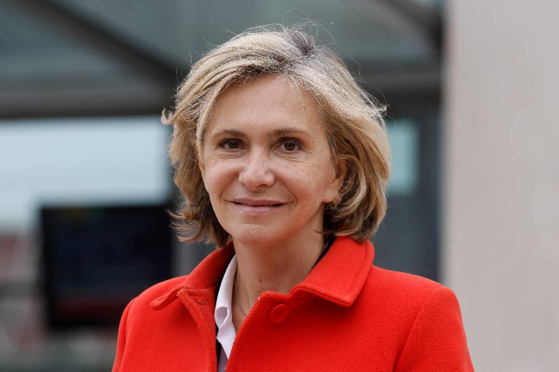 Valérie Pécresse, présidente de la région Ile-de-France en Essonne le 29 avril 2021