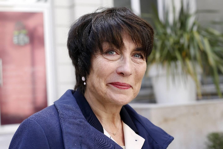 Marie-Pierre de la Gontrie, alors vice-présidente PS de la région Ile-de-France, le 20 mai 2015 à Paris