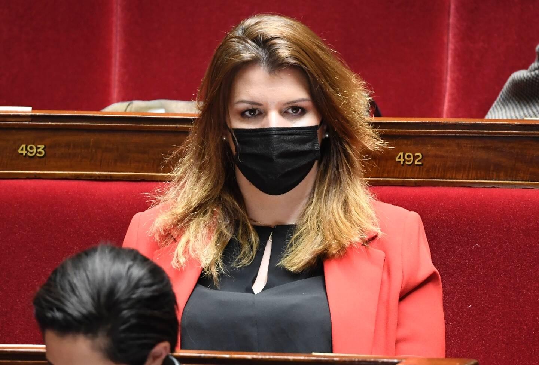 Marlène Schiappa à l'Assemblée nationale le 30 mars 2021