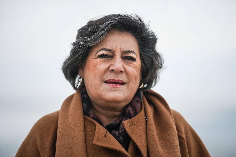 La socialiste Ana Gomes à Lisbonne le 10 février 2020