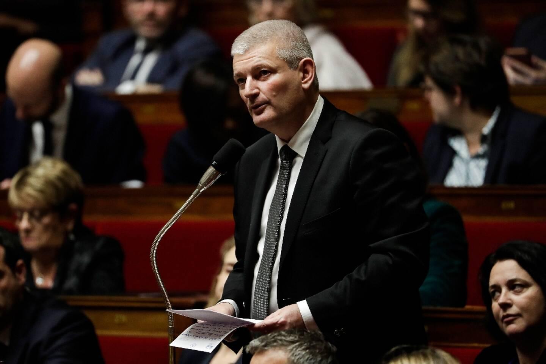 Le député Olivier Falorni à l'Assemblée nationale, le 11 décembre 2018 à Paris