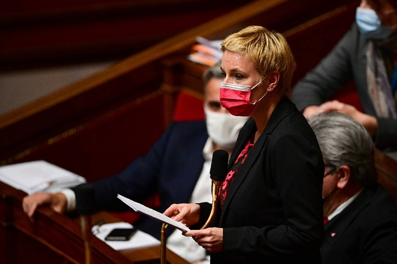 Clémentine Autain (LFI-PCF) à l'Assemblée nationale le 11 mai 2021