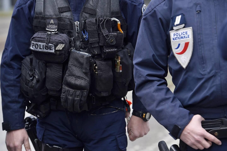 Des policiers à Nantes en mars 2017