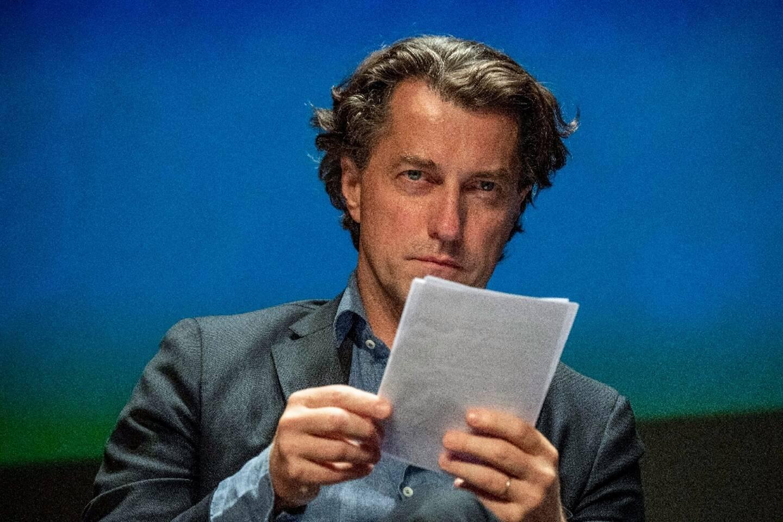"""Dominique Boutonnat le 13 septembre 2019 lors de la 21e édition du  """"Festival de la fiction"""" à La Rochelle"""