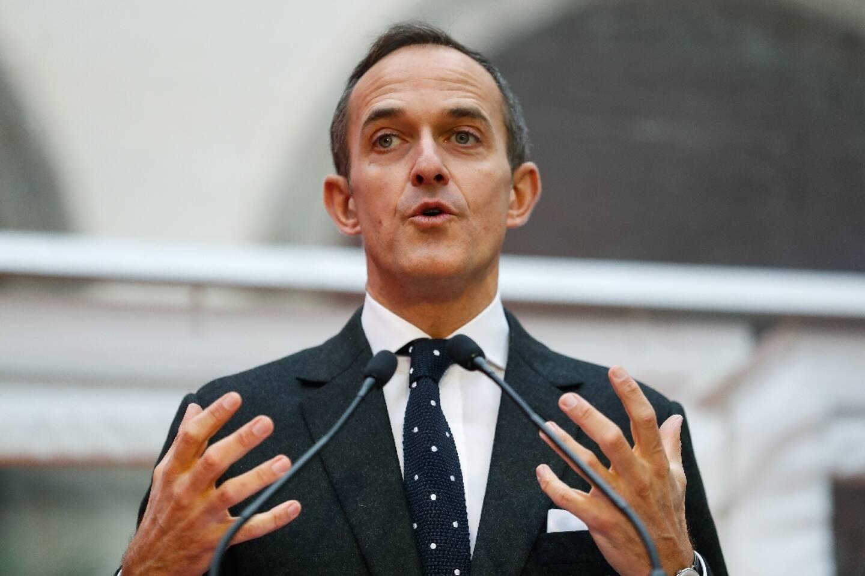 Le directeur de Science Po Frédéric Mion, le 11 janvier 2018 à Paris