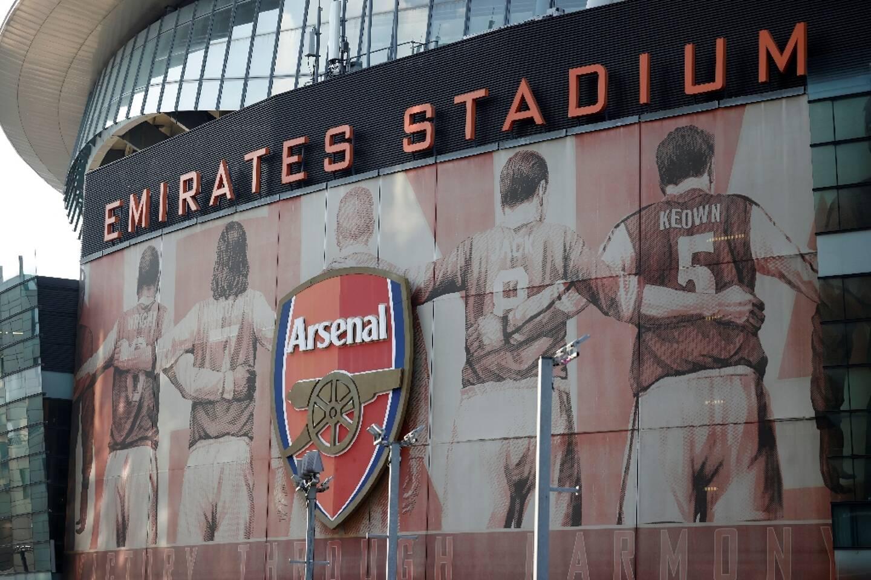 Vue du stade du club Arsenal le 19 avril 2021 à Londres