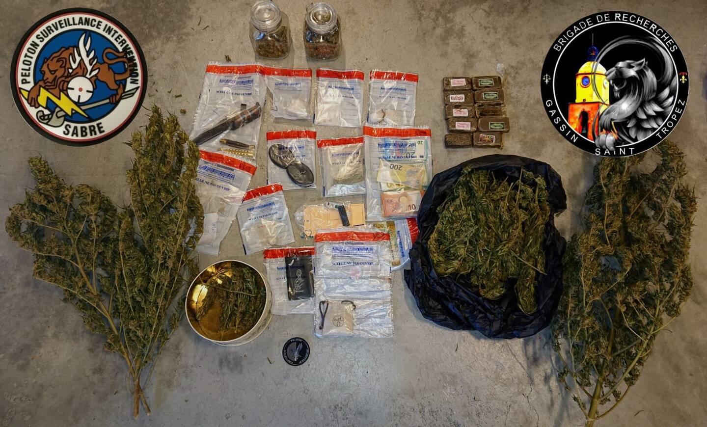 Morad A. avait en sa possession toute une gamme de produits illicites...