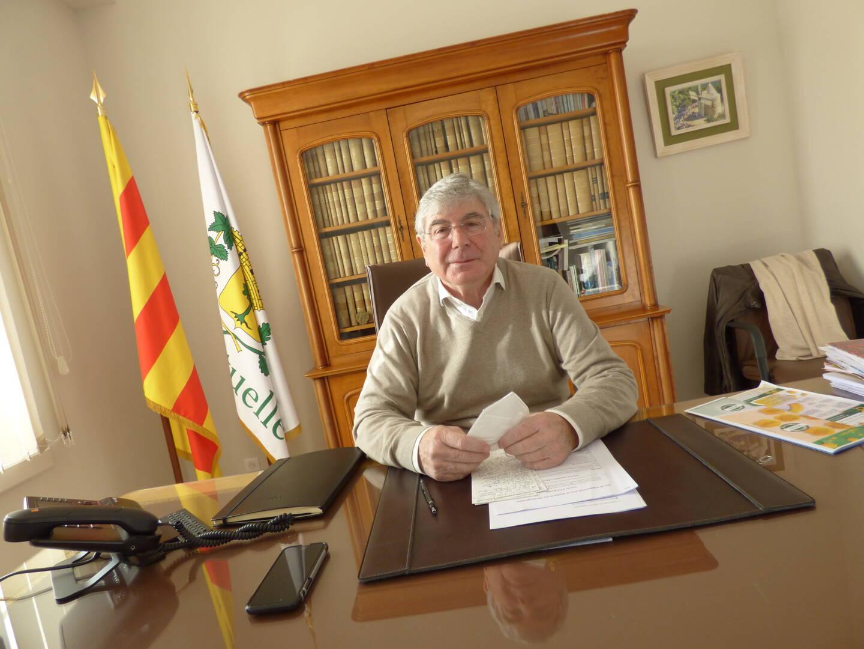 Dans son bureau de l'hôtel de ville, le maire Roland Bruno a revisité une année particulière tout en se projetant vers l'avenir.