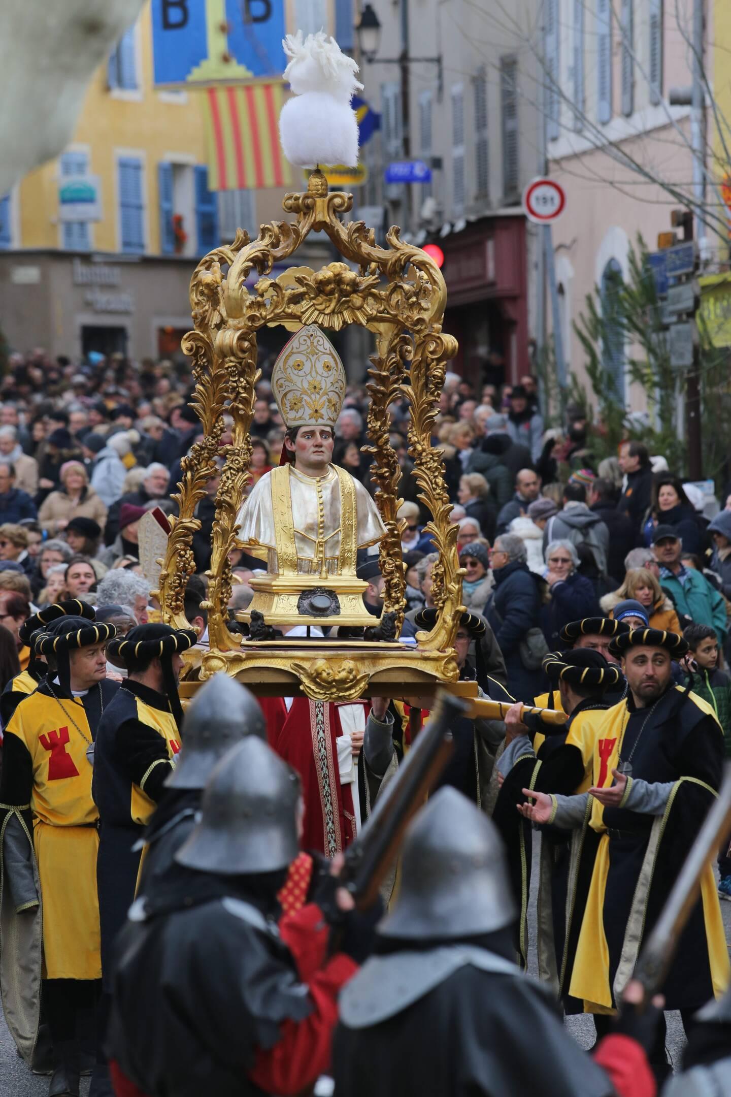 L'année dernière, la Saint-Marcel a pu être organisée quelques semaines avant le confinement.