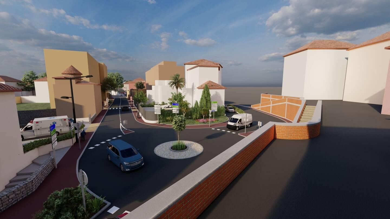 Le rond-point Bellaud-de-la-Bellaudière tel qu'il devrait apparaître d'ici à juillet prochain, date annoncée de la livraison du chantier de rénovation de Carnot.