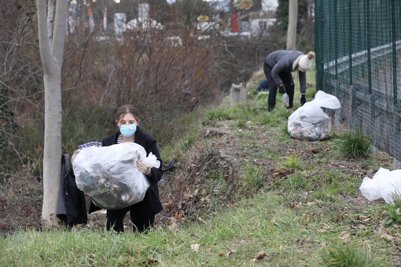 Un total de 202,55 kg de déchets a été ramassé.