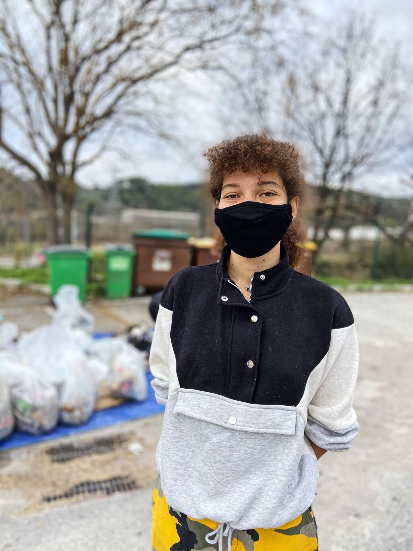 Nadika, 25 ans, étudiante.