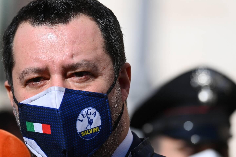 Matteo Salvini le 6 février 2021 à Rome