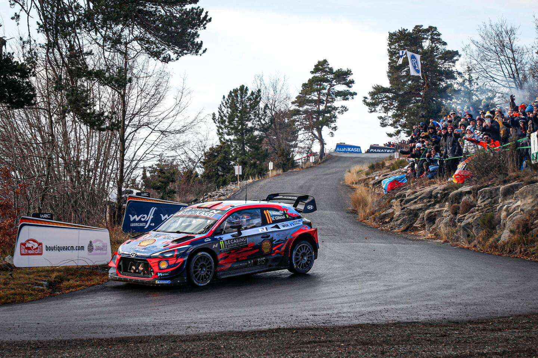L'an dernier, Thierry Neuville a remporté le rallye de Monte-Carlo.