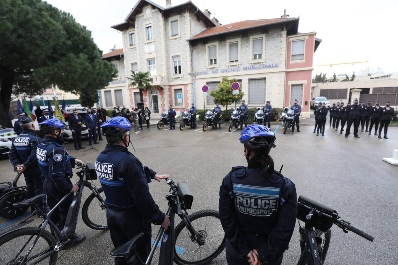 Les policiers municipaux étaient rassemblés, ce mercredi, pour la traditionnelle revue d'effectifs