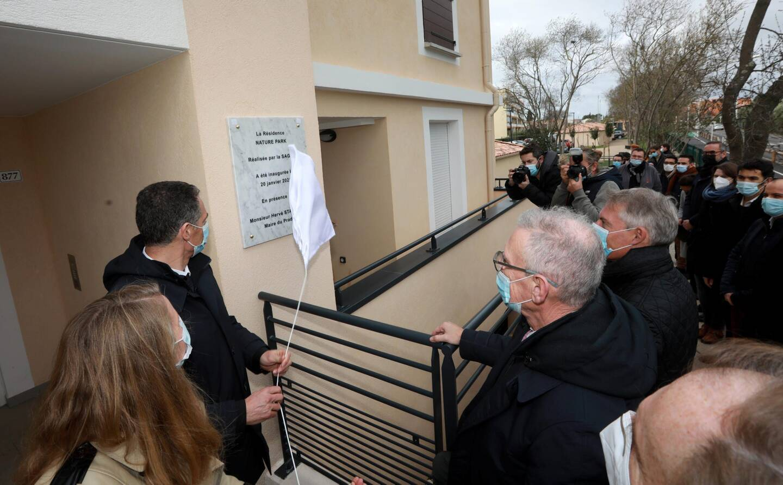 Les résidences, habitées depuis la fin de l'année, ont été officiellement inaugurées mercredi.