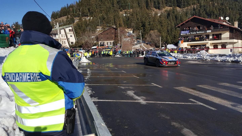Contrairement aux années précédentes (comme en 2018 sur cette photo), aucun spectateur ne sera toléré sur le bord des routes des épreuves spéciales.(DR)