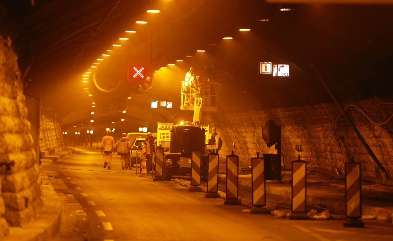 Des travaux de mise aux normes incendie auront lieu tous les soirs dans le tunnel André-Liautaud durant les 18 prochains mois.