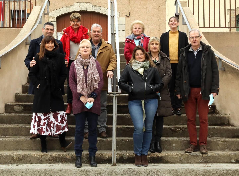 En présence du maire, le président et une partie de l'équipe de l'association du Millénaire de Pontevès ont participé à une nouvelle réunion de préparation de la fête.