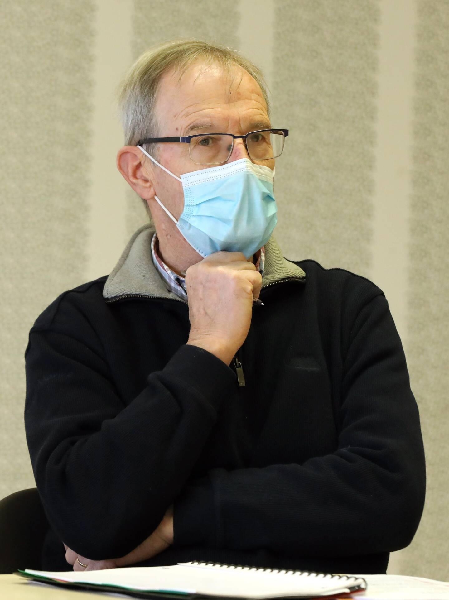 Le président de l'association, Guillaume Dejerphanion.
