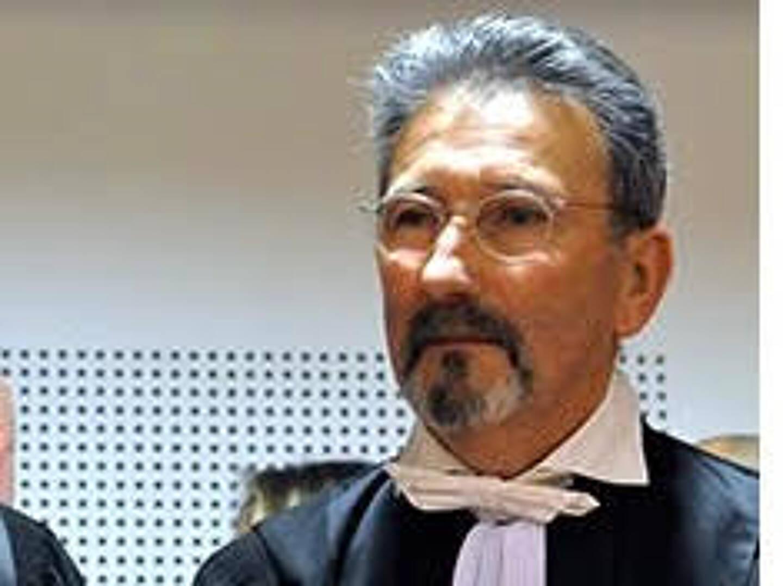 Robert Martin, président du tribunal de commerce d'Antibes.