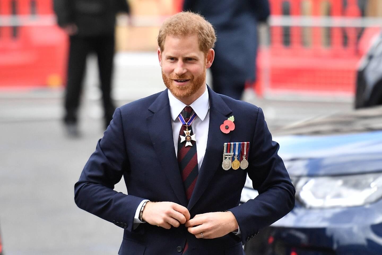 Le prince Harry, le 25 avril 2019 à Londres
