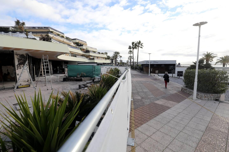 La résidence Atoll-Beach se trouve au-dessus des restaurants qui ont pris feu, en septembre 2020.