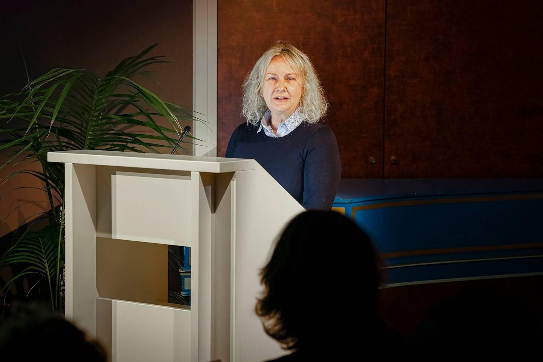 Ingrid De Bruyn, gérante de l'appli EatIn.