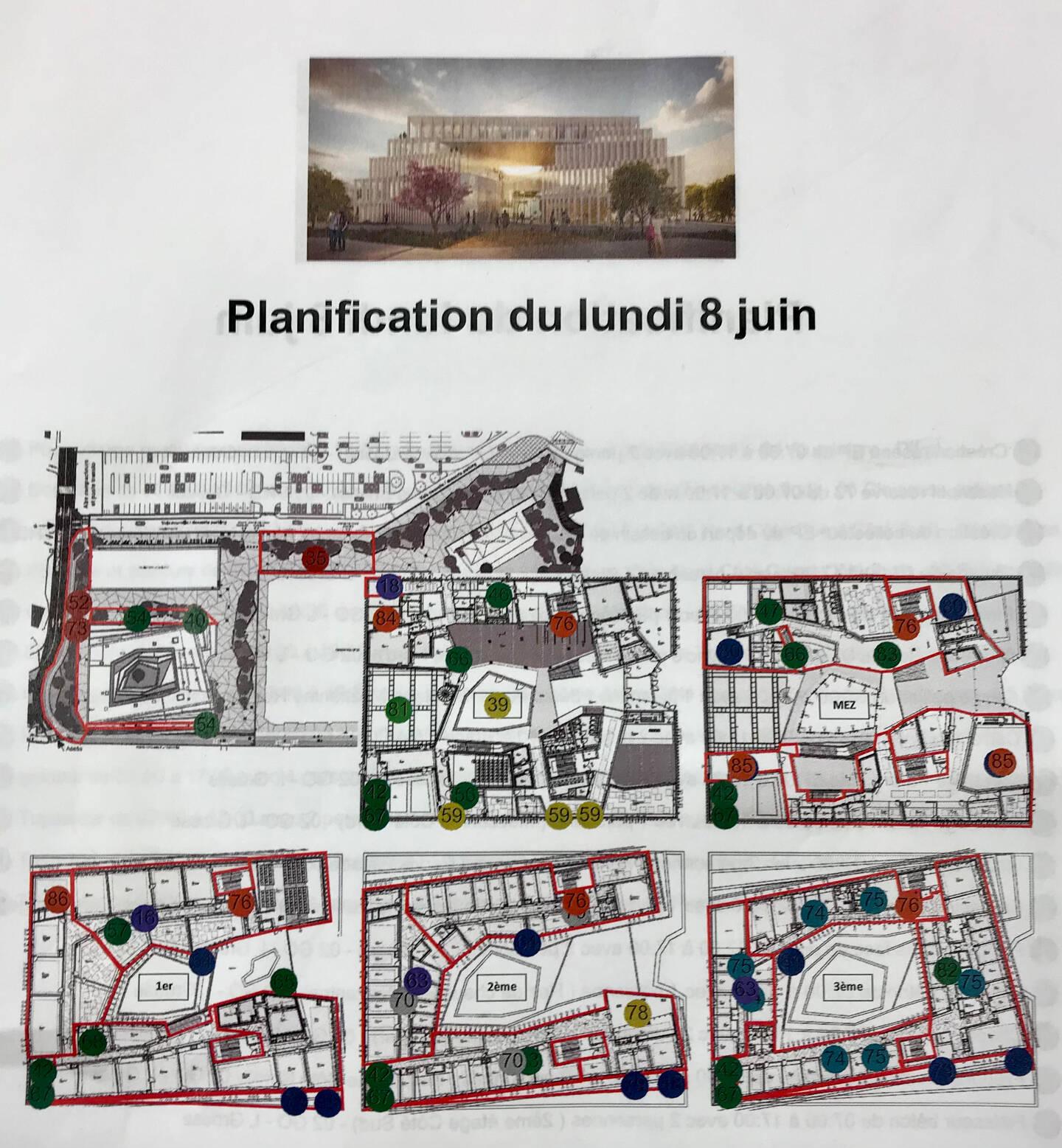 Un plan de l'université de Cannes a été dressé pour éviter les cas contacts.