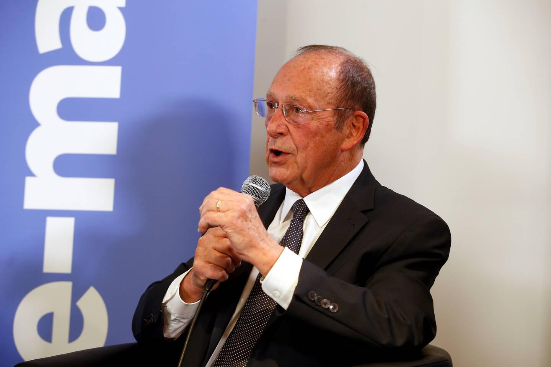 Jean-Claude Guibal, maire de Menton