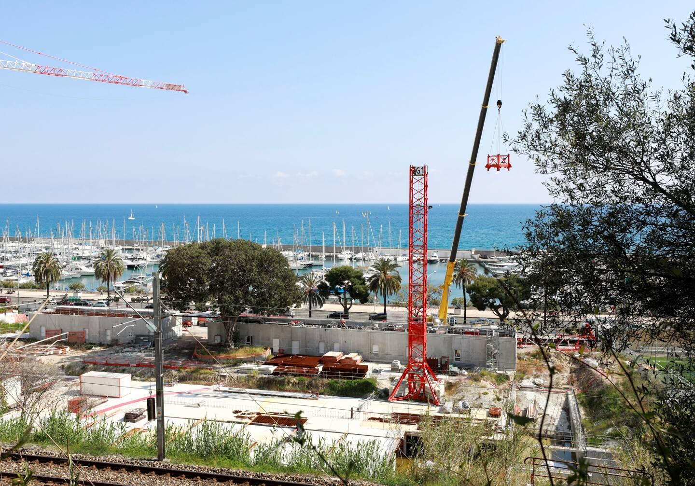 Le démontage des grues du chantier le 20 avril dernier a jeté le trouble sur l'avenir du projet.