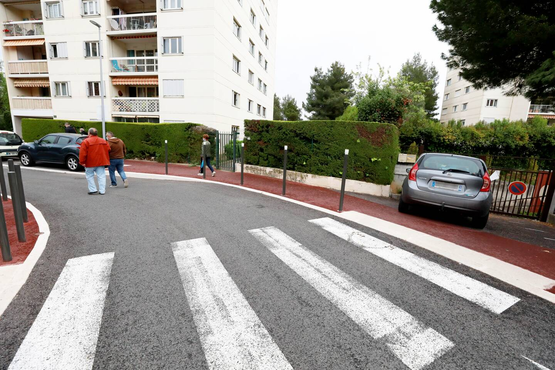 Des automobilistes profitent des espaces entre les potelets sur les passages protégés, et des entrées de résidences, pour se garer en toute illégalité et en gênant piétons et riverains.
