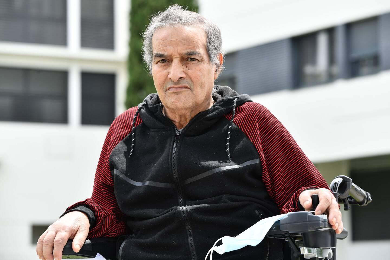 Abdallah Mekchiche a développé une forme grave de la Covid 19. Fortement affaibli après des semaines de coma, il reprend doucement des forces.