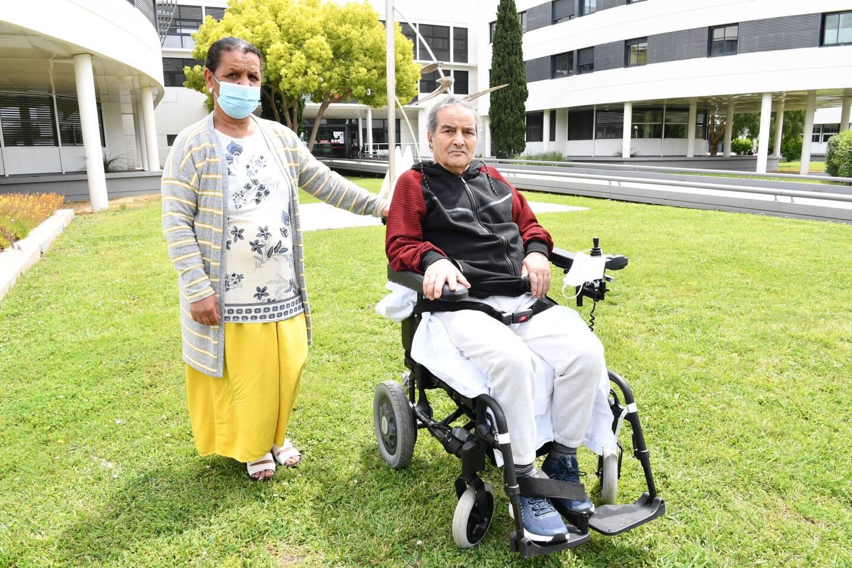 Ces huit derniers mois, Abdallah Mekchiche a toujours pu compter sur le soutien de son épouse et de ses enfants.