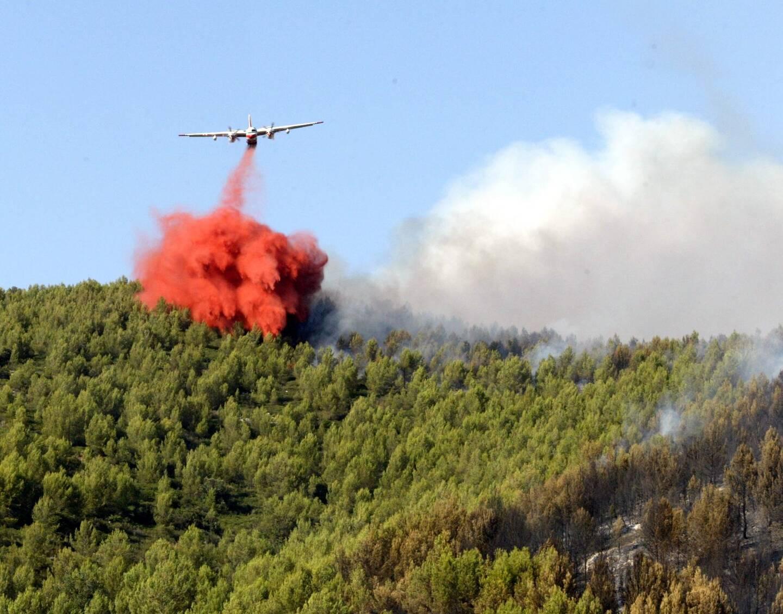 Sur ce territoire, les incendies importants sont souvent venus de l'extérieur du département. D'où un regard attentif sur le Pidaf des voisins bucco-rhodaniens. Ici, un feu à Saint-Zacharie, en 2009.
