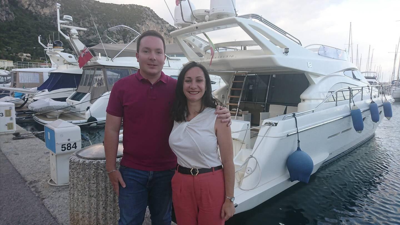 Rémi Gaziello et Cindy Damoiseaux, 30 ans.