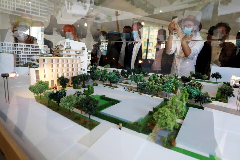 La construction sur huit hectares du nouveau quartier de l'est, commencera en 2023 et s'achèvera en 2027.