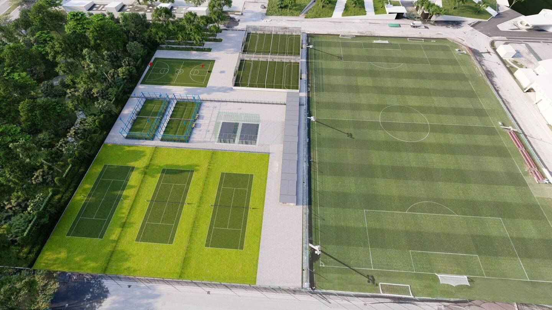 Le complexe indoor prendra place sur le boulevard Paul-Montel.