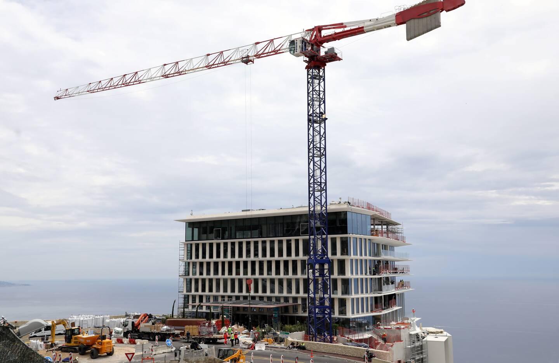 """""""Les travaux de sécurisation étaient prévus à l'origine et ont commencé avant même les travaux de l'hôtel."""""""