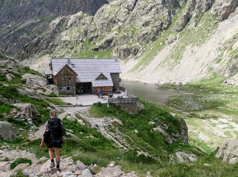 Le refuge de Nice, dans la vallée de la Gordolasque, en haute Vésubie, ouvrira le 12 juin.