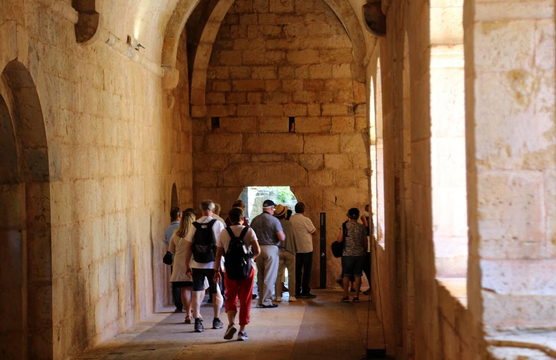 Depuis sa réouverture, l'abbaye cistercienne accueille de nouveau de nombreux visiteurs.