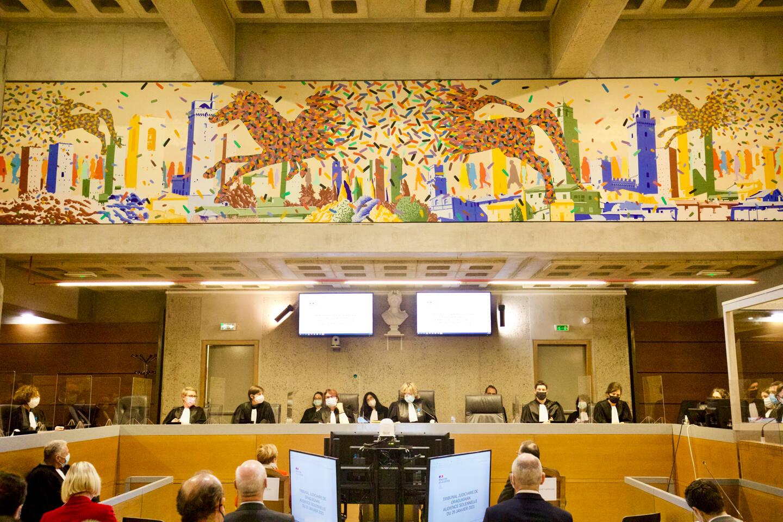Le tribunal judiciaire de Draguignan, ici lors de sa dernière rentrée solennelle.