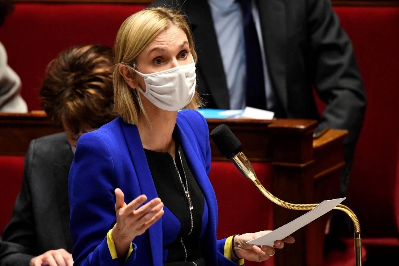 Agnès Pannier-Runacher le 26 janvier 2021 à l'Assemblée nationale